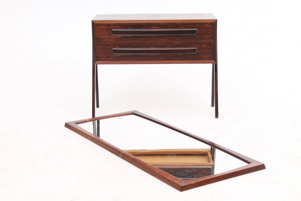 aksel-kjersgaarddrawer-and-mirror-rosewood-aksel-kjersgaard-odder-denmark