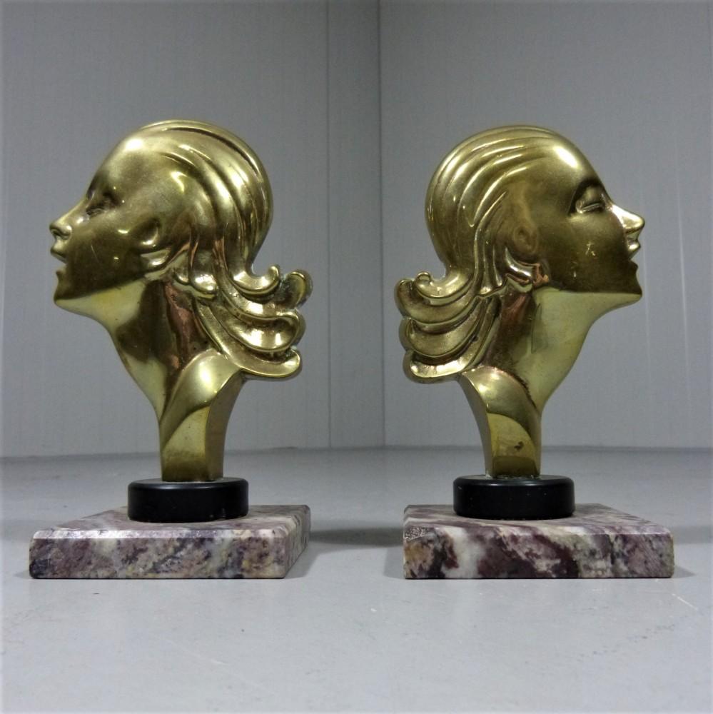 brass-bookends