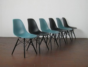 Brilliant Charles Ray Eames Dining Table Chairs Chairs Model Dsw Gmtry Best Dining Table And Chair Ideas Images Gmtryco