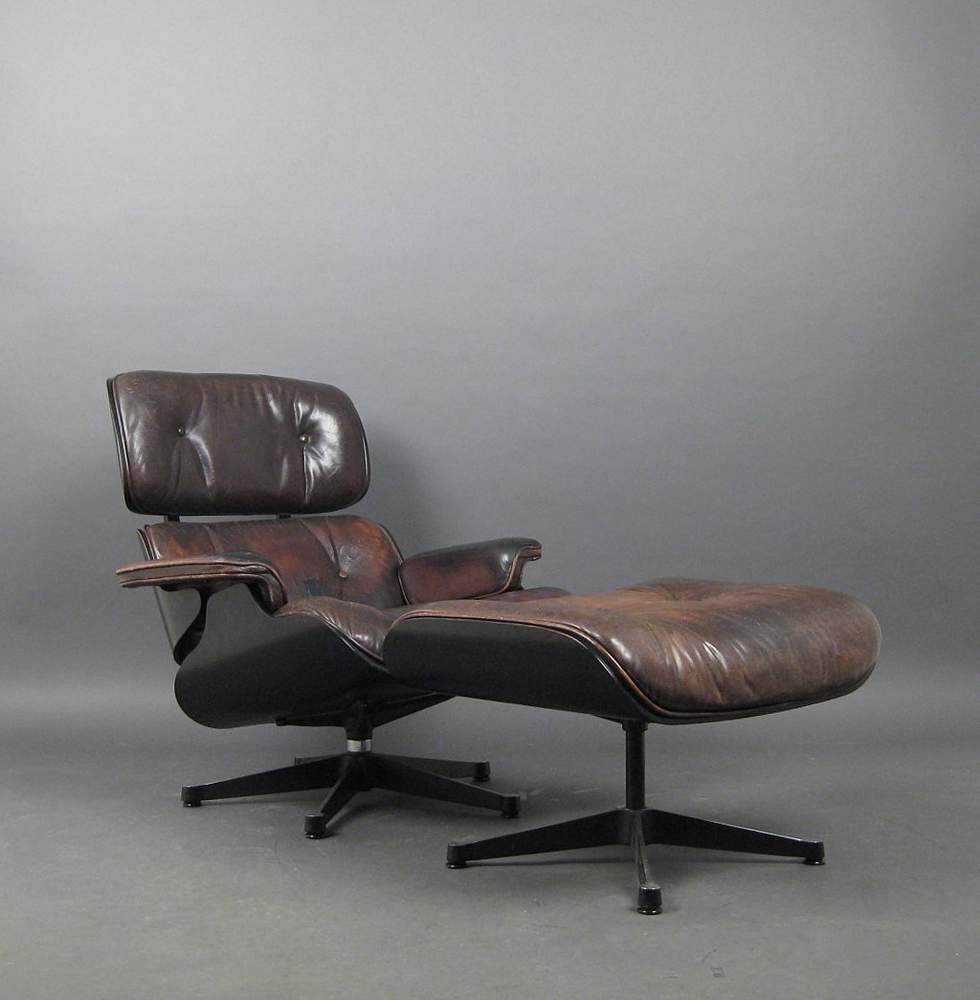Awesome Charles Ray Eames A Lounge Chair Ottoman By Vitra 2 Machost Co Dining Chair Design Ideas Machostcouk