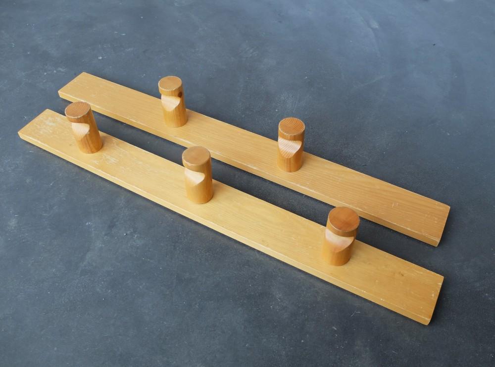 charlotte-perriandvintage-pine-coat-racks-charlotte-perriand-for-les-arcs-set-2