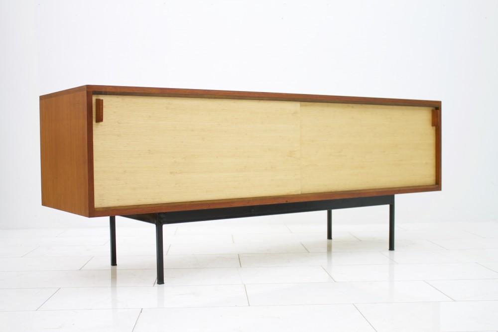 dieter-waeckerlinrare-mid-century-teak-sideboard-seagrass-doors-dieter-wackerlin