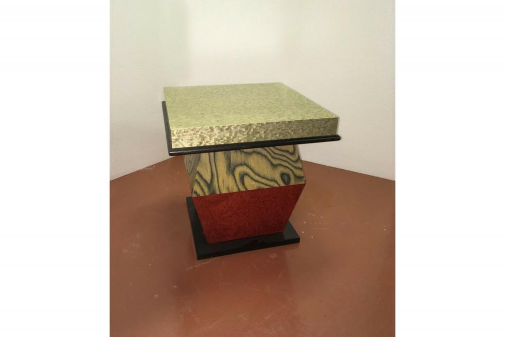 ettore-sottsassettore-sottsass-for-design-gallery-rosso-grigio-e-nero-sidetable-1988