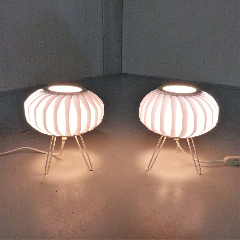 Fifties Ufo Table Lamps