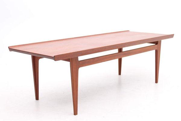 Solid teak coffee table by Finn Juhl, DK
