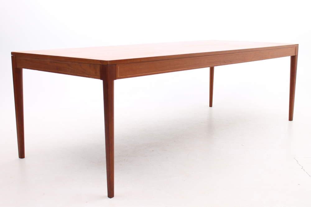 Teak conference table by Finn Juhl, Denmark.