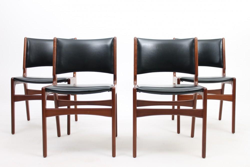 henning-kjaernulf4-teak-chairs-henning-kjaernulf-denmark