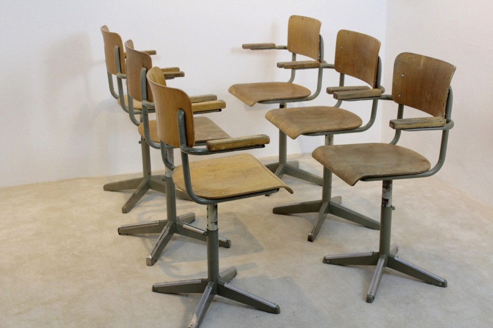 industrial-tubax-plywood-desk-chairs