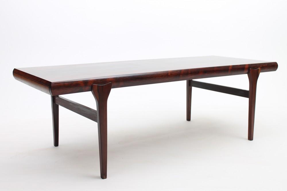 Rosewood coffee table by Johs. Andersen, DK