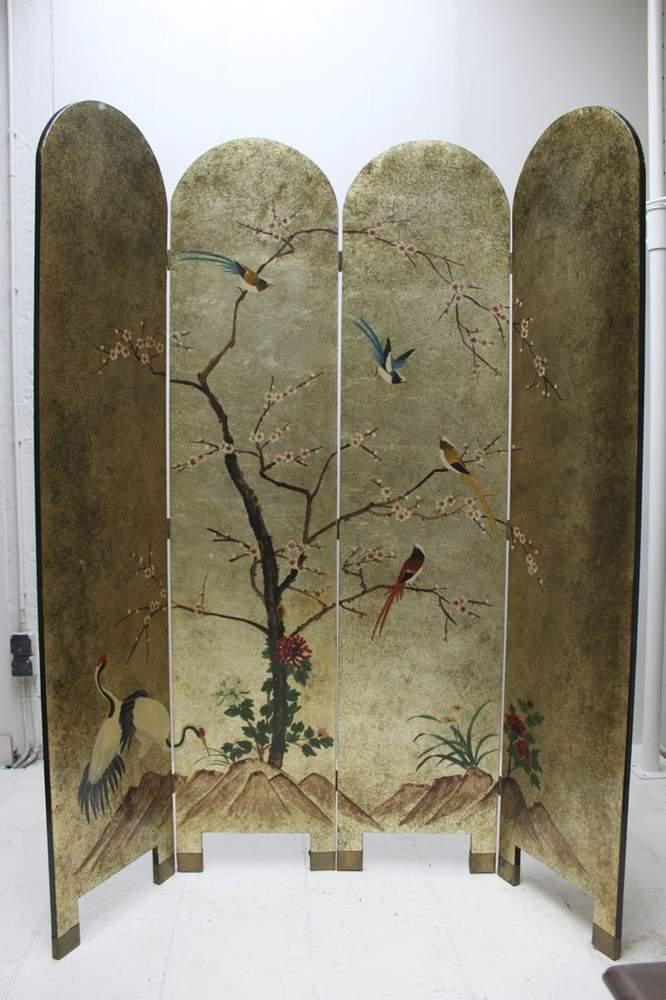 lacquered-vintage-oriental-room-divider