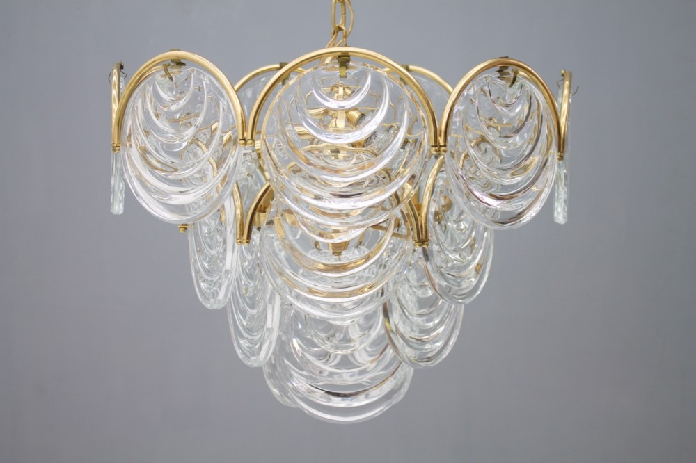 lage-brass-glass-chandelier-italy-1960s
