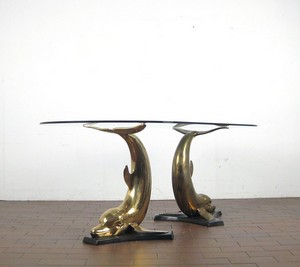 large-sculptural-dining-table-1970s-base-two-dolphins