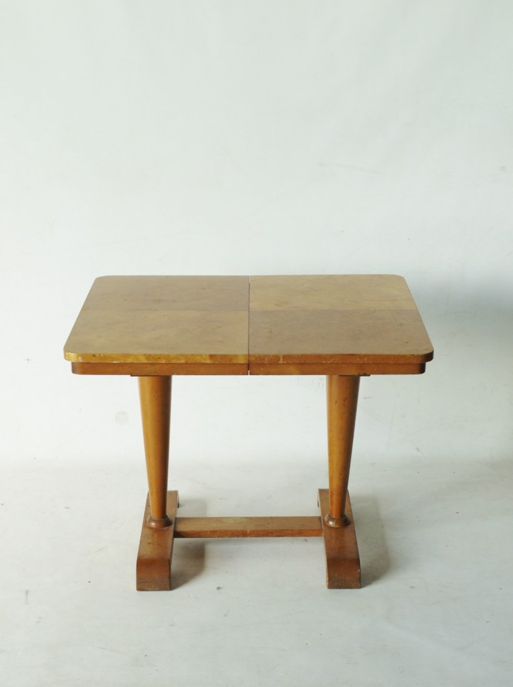 Maple Wood Coffee Table.Low Extendable Mini Maple Wood Table By Vesper For Heals Uk 1940s