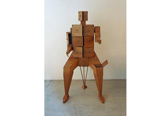 Anthropomorph cabinet 'Uomo' by MARCELLO MARIOTTI