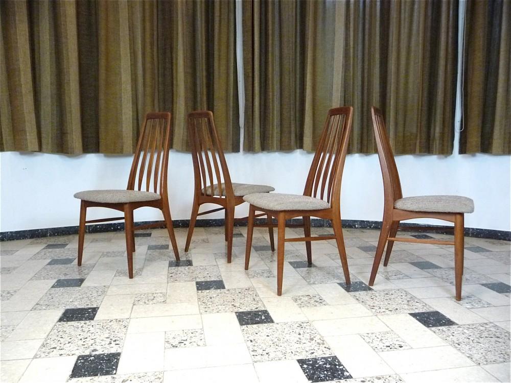 niels-koefoedeva-set-4-teak-dining-chairs-niels-koefoed-denmark-1960s