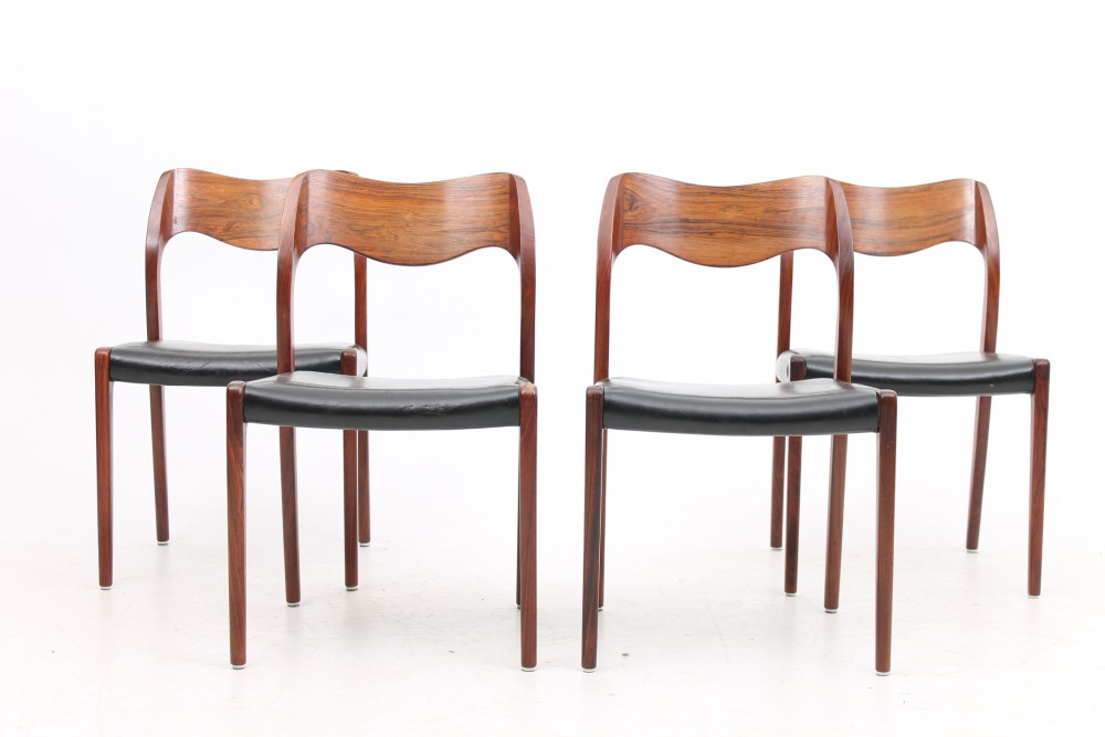 niels-o-mollerset-4-rosewood-chairs-nomoller-denmark
