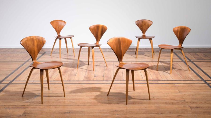 norman-chernerseries-six-chairs-norman-cherner