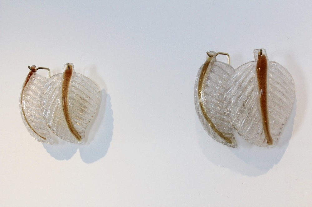 original-set-murano-glass-leaves-wall-lights-av-mazzega-italy-1970s