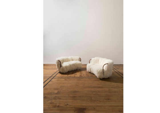 pair-sofas-iceland-sheep-wool-mahogany-and-brass-1954