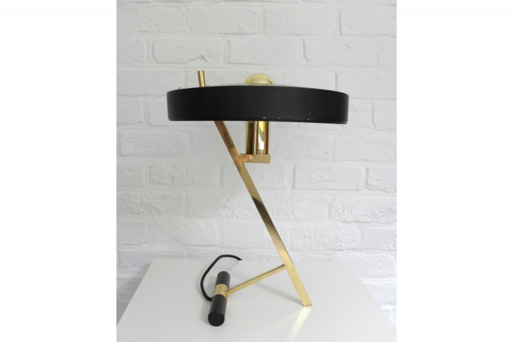 philips-z-lamp-table-design-louis-kalff-brass-mid-century