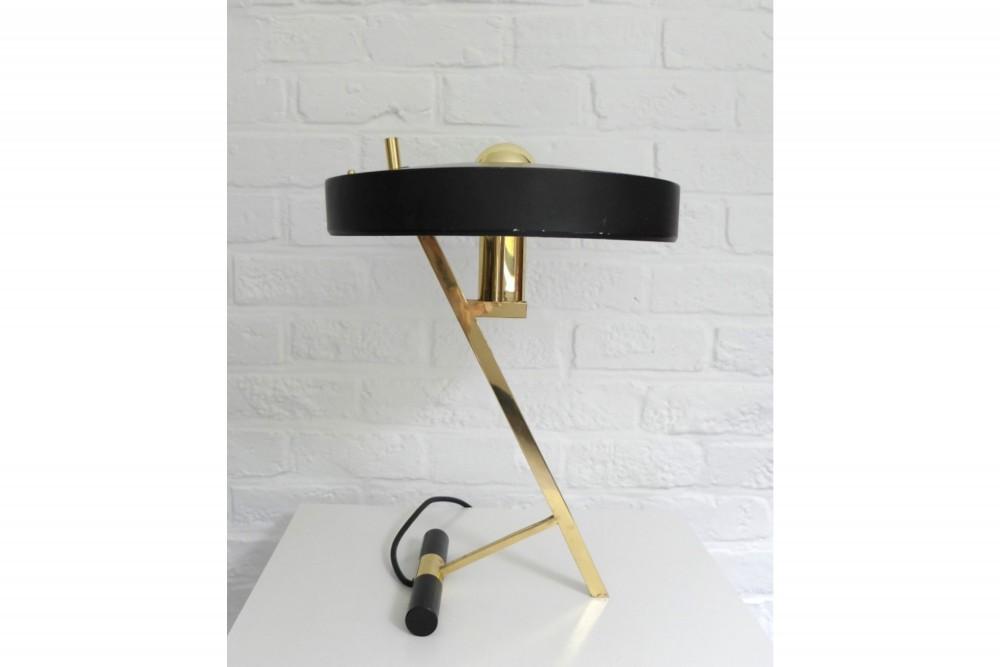 philips-z-lamp-table-design-louis-kalff-brass-mid-century