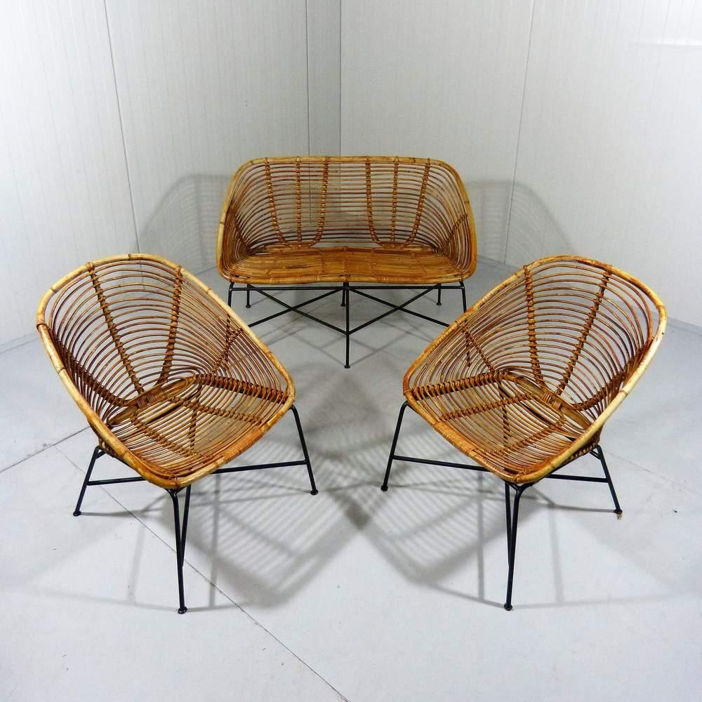 rattan-steel-lounge-garden-set