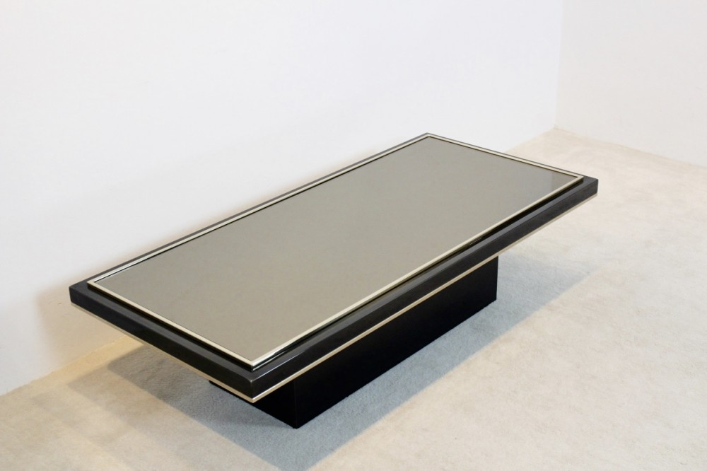 roger-vanhevelroger-vanhevel-black-and-brass-mirrored-glass-coffee-table