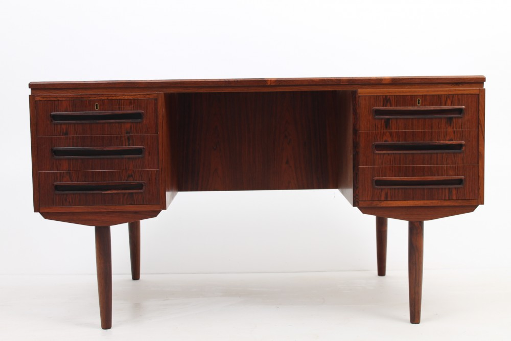 small-danish-rosewood-desk
