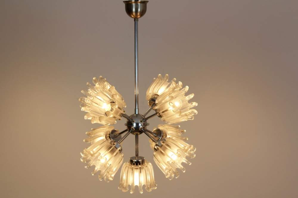 sophisticated-chrome-and-frosted-tulip-glass-chandelier-doria