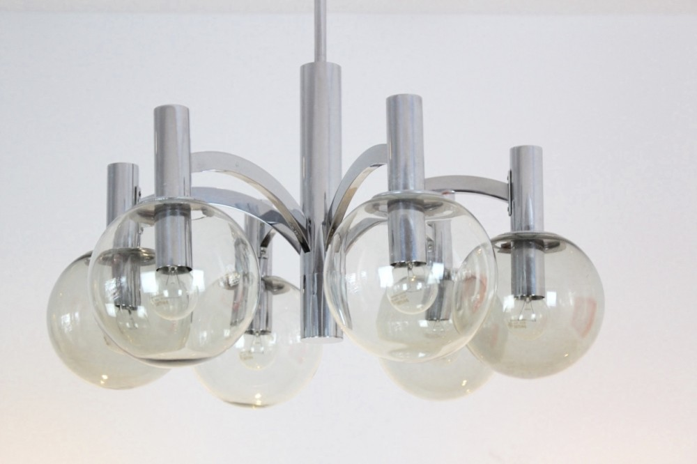 sophisticated-chrome-and-glass-chandelier-kaiser-leuchten-germany