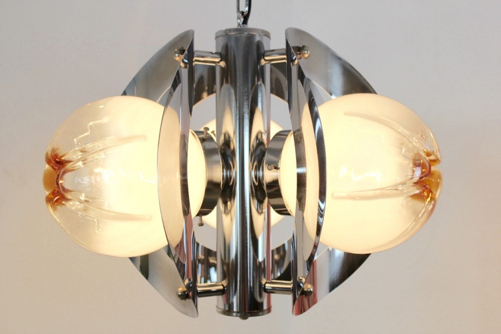 sublime-geometric-chrome-and-frosted-glass-chandelier-av-mazzega-italy-1970s
