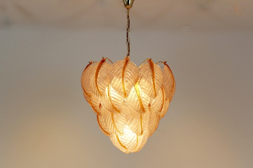 sublime-murano-frosted-glass-leaves-chandelier-av-mazzega-italy-1970s