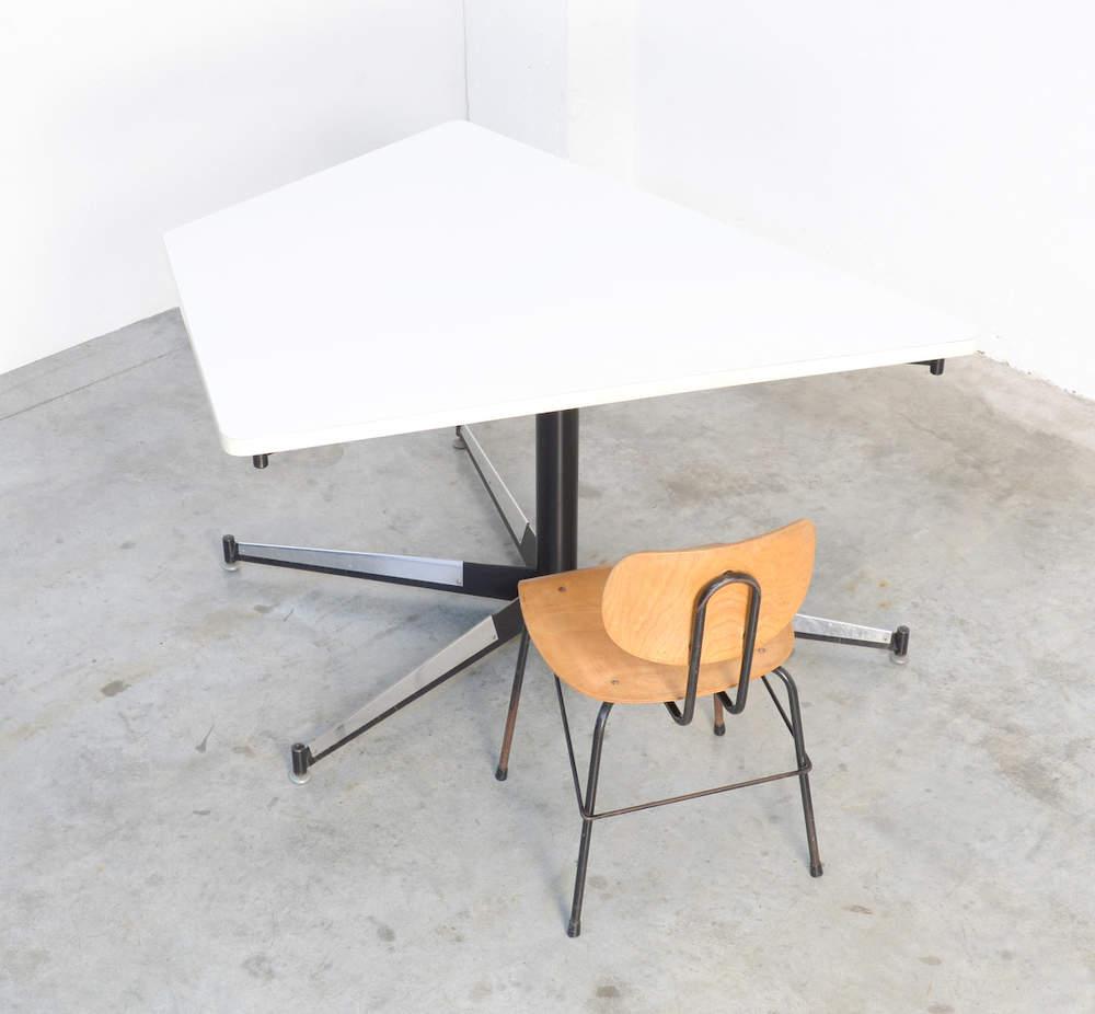 Exclusive Dining Table by Willy Van Der Meeren for the HBK Building