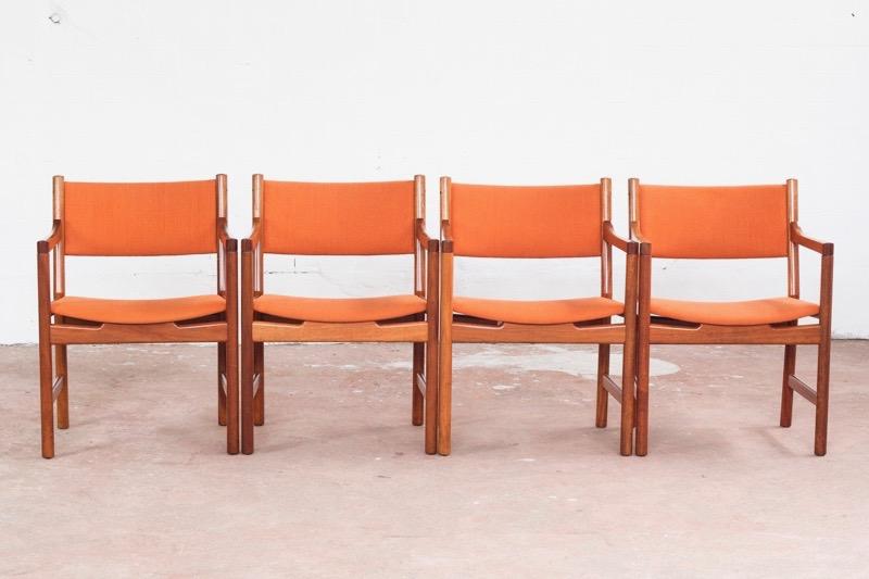 hans-wegner-4-chairs-teak-hans-wegner-for-johannes-hansen