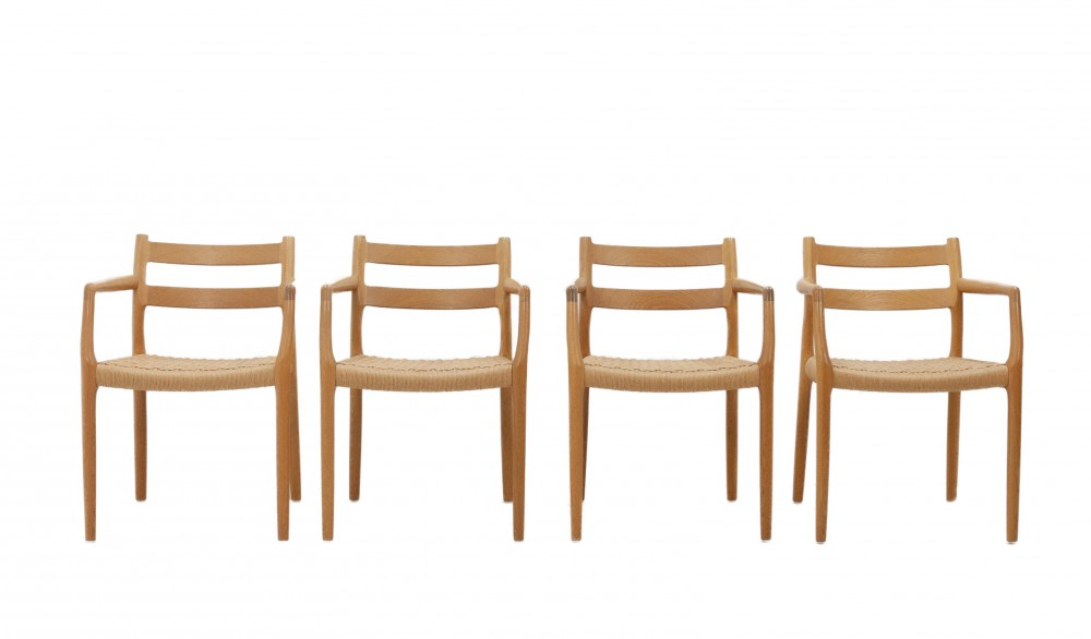 niels-mollerset-four-oak-niels-otto-moller-no-67-chairs