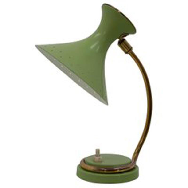 1950s Table Lamp in the Manner of Atelier Matégot