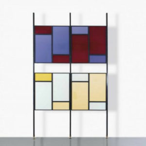 Colourful Midcentury Modern Italian Partition Wall