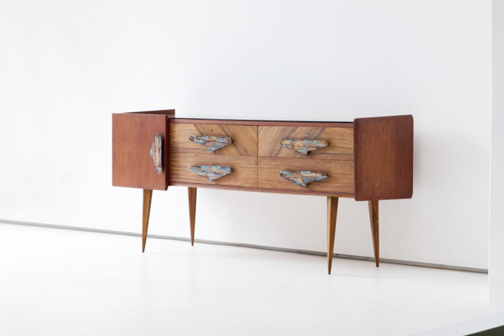 rare-italian-mahogany-and-teak-sideboard-chest-drawers-1950s