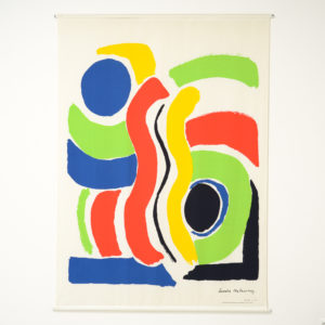 XL Print on Canvas of Sonia Delaunay by Jacques Damase, 1992