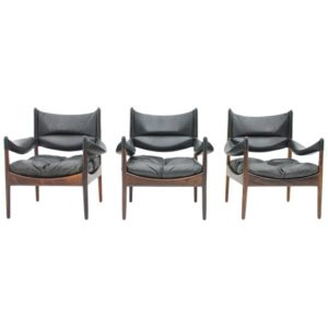 Lounge chairs by Kristian Solmer Vedel made by Soren Willadsen, 1963