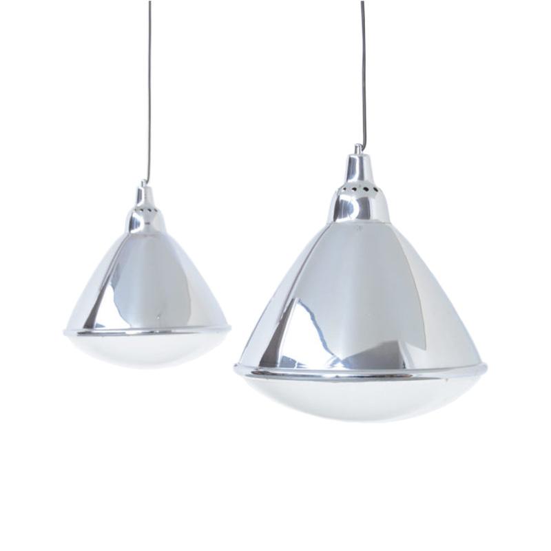 Pair of Headlight Pendant Lamps by Ingo Maurer for Design M