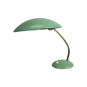 Mint Green Philps Desk Lamp, 1950s