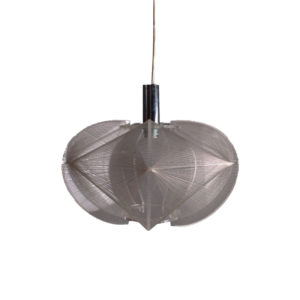 Op art pendant lamp by Paul Secon for Sompex