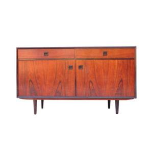 Vintage Rosewood Sideboard by Brouer Møbelfabrik, 1960s