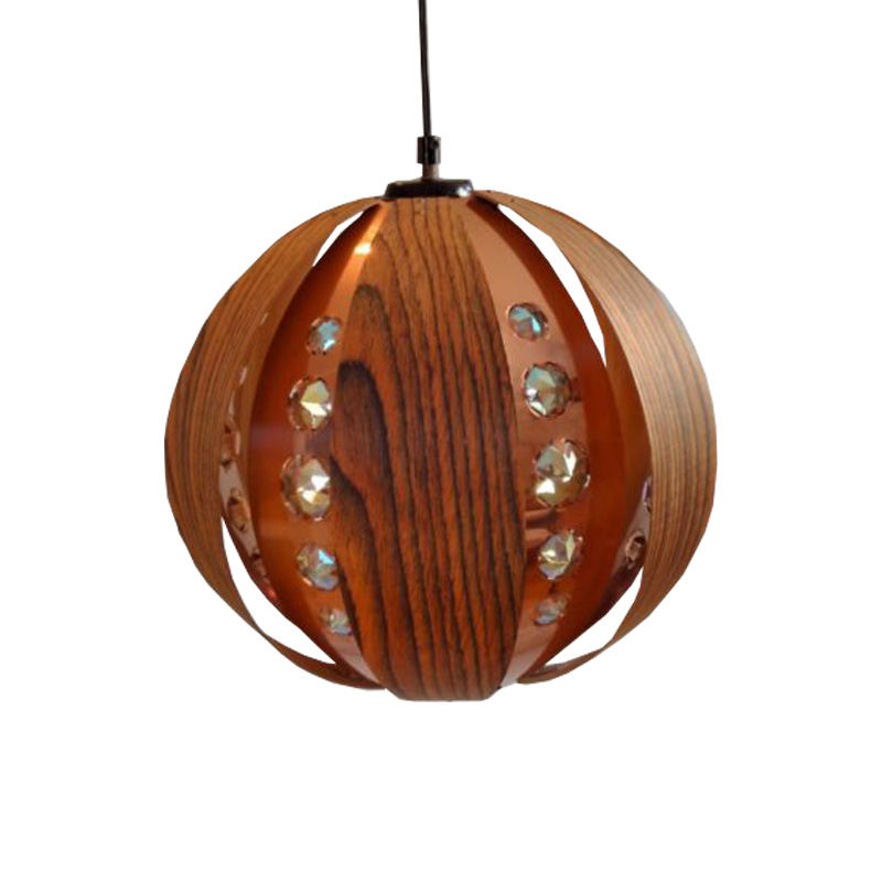 Pendant lamp by Werner Schou by Coronell Elektro.