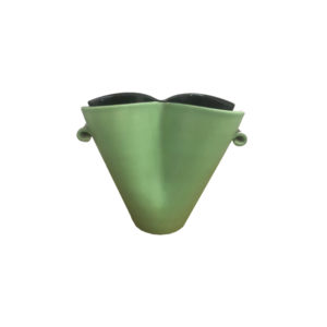 Vintage Green Vase Elchinger