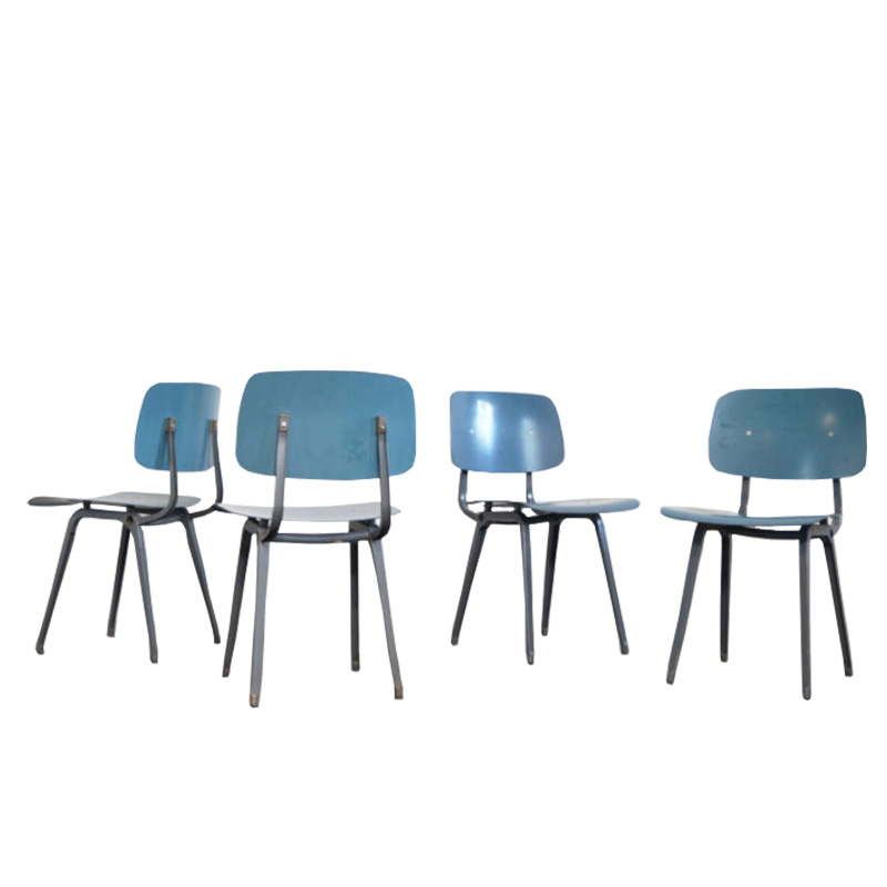Set of four Revolt chairs Friso Kramer