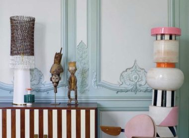 Ettore Sottsass in a 18th-century apartment