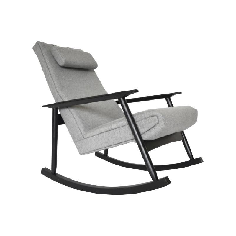 Products Ąžuolas Rocking Chair by Valerija Ema Cukermanienė for Vilniaus Baldų Kombinatas, 1960s