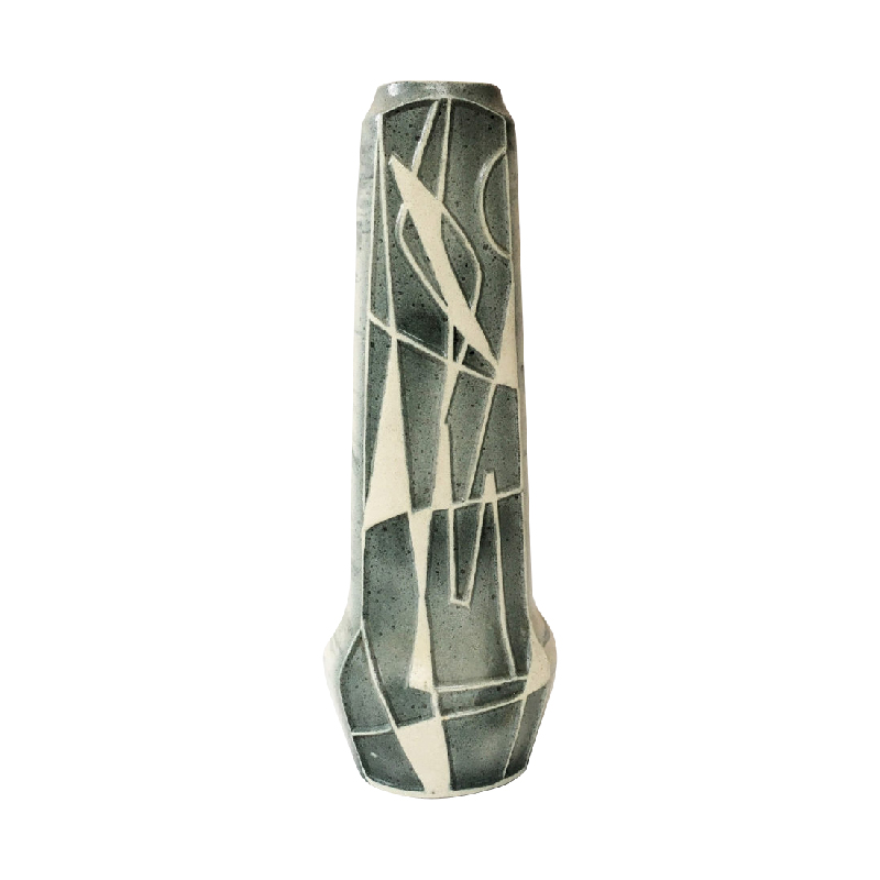 West German Pottery vase from the 1960's by Bodo Mans for Bay Keramik